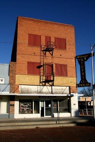 Old Memphis Hotel Texas