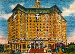 Baker Hotel Mineral Wells Texas Post Card