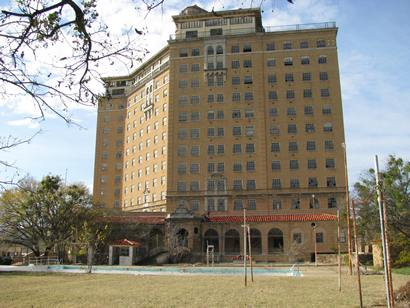 Baker Hotel Today Mineral Wells Texas