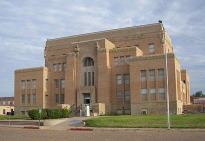 Cottle County courthouse, Paducah, Texas