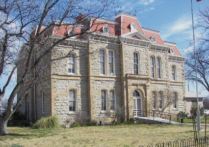Paint Rock Texas -  Concho County courthouse
