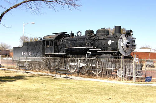 Slaton Tx - Train Display