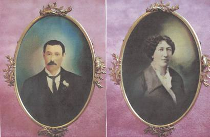 Big Nose Kate and Doc Holliday  Wedding Photos