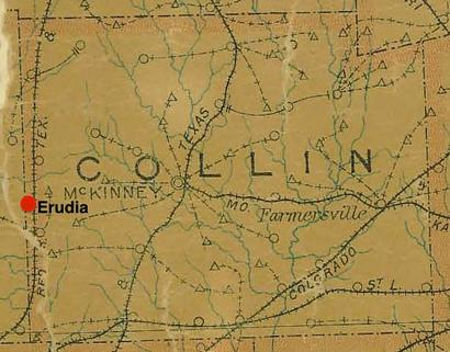 Collin County TX Map