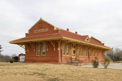 Sterling City Tx Depot, historic landmark