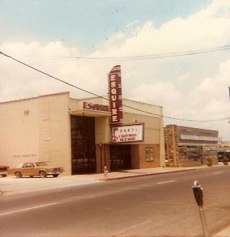 Esquire Theatre, Cleburne, Texas