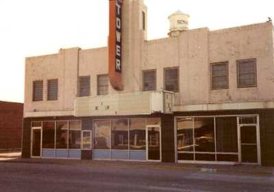 Tower Theater Razed Seminole Texas