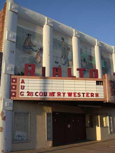Rialto Theatre Brownfield Texas