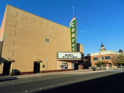 Denton TX -  Campus Theater Neon