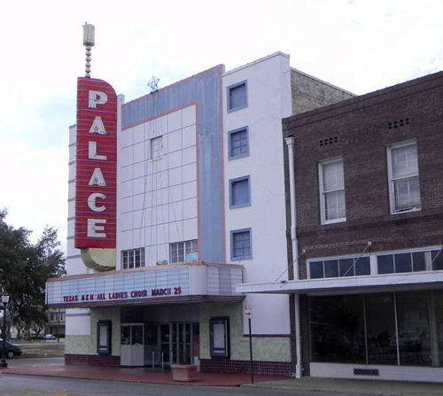 Seguin TX - Palace Theatre Neon Sign