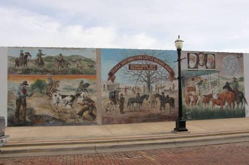 Texas mural related keywords texas mural long tail for Austin frog mural