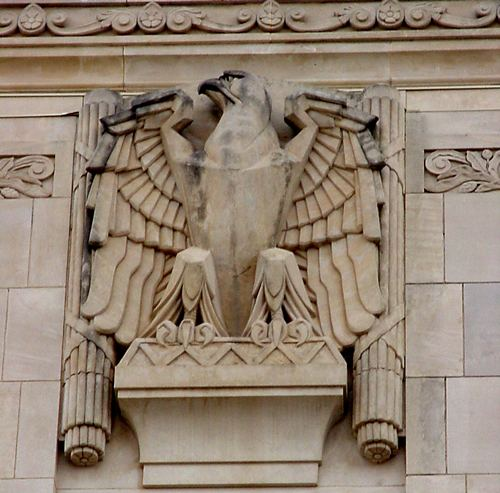 Young County courthouse eagle