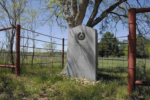 Foard County, Margaret TX, Pease River Battlefield Marker