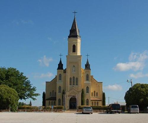 Rhineland, Texas history, landmarks, St  Joseph Catholic