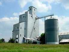Eagle Lake, Texas Grain Elevators