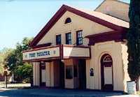 Fort Clark Texas Post Theater