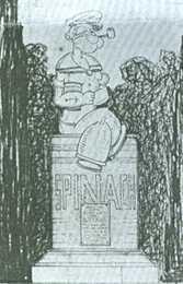 Popeye Statues 3
