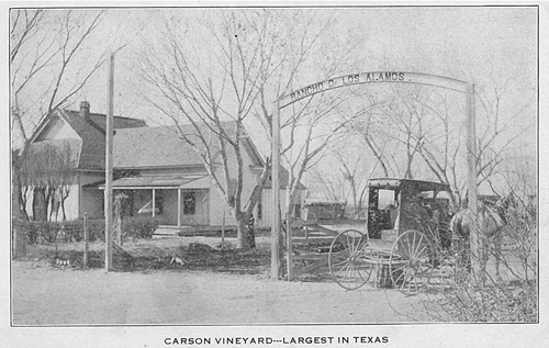 Barstow, TX in 1908