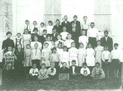 Pierce, Texas - Pierce School children, 1910