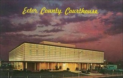 Ector County Courthouse,  Odessa, Texas