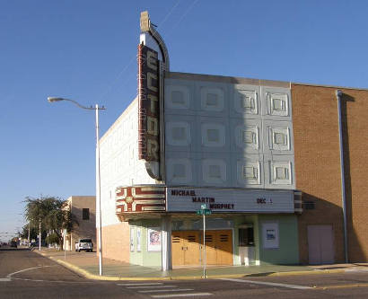 Odessa Tx Ector Theatre And Marquee
