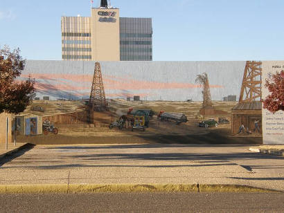 Odessa Tx Oil Field Wall Mural